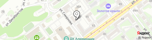Фаберлик на карте Новокузнецка