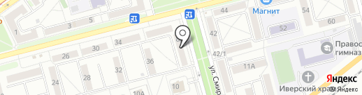 Администратор сети на карте Новокузнецка