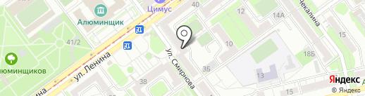 Магазин чулочно-носочных изделий на карте Новокузнецка