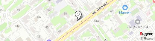 Bank beer на карте Новокузнецка