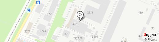 Автомаляр-плюс на карте Новокузнецка