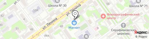 Банкомат, Сбербанк, ПАО на карте Новокузнецка