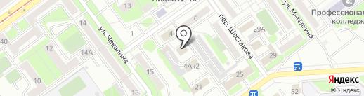 ТеРем на карте Новокузнецка