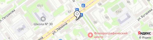 Сибирское здоровье на карте Новокузнецка