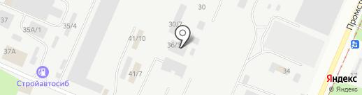ЖИЛИЩНО-КОММУНАЛЬНЫЙ ТРАНСПОРТ на карте Новокузнецка