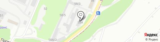 Столовая на карте Новокузнецка