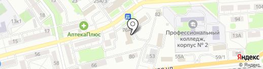Центр гигиены и эпидемиологии в г. Новокузнецке и Новокузнецком районе на карте Новокузнецка