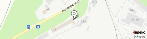 Город сад на карте Новокузнецка