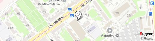 МебельКлаб на карте Новокузнецка