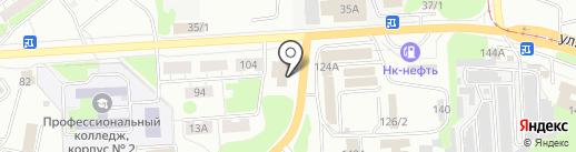 Мамин борщ на карте Новокузнецка