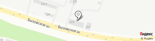 Бетон-Строй на карте Новокузнецка