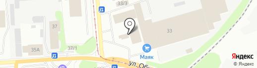 КузбассПромсервис на карте Новокузнецка