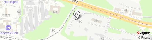 Аккорд на карте Новокузнецка
