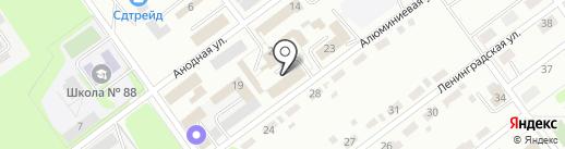 Максимум на карте Новокузнецка