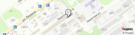 Теплокот на карте Новокузнецка