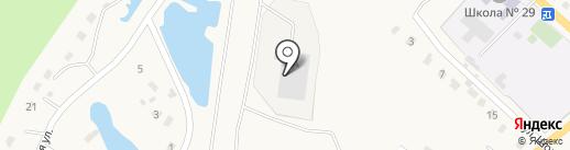 Адамант на карте Калтана