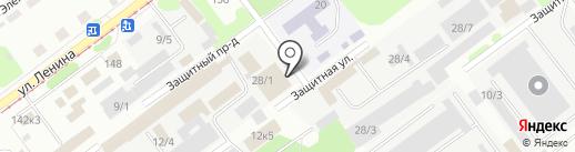 Енот-НК на карте Новокузнецка
