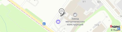 Банкомат, Банк Левобережный, ПАО на карте Новокузнецка