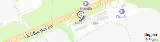Алтын Су на карте Новокузнецка