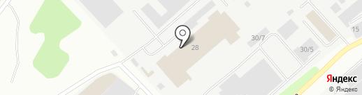 НЗРМК им. Н.Е. Крюкова на карте Новокузнецка