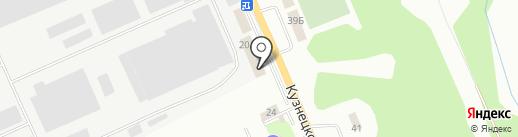 ТеплоМастер на карте Новокузнецка