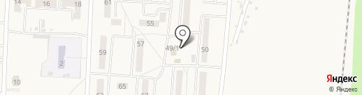 Банкомат, Банк УРАЛСИБ на карте Калтана