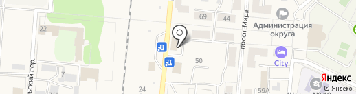 Мастерская по ремонту сотовых телефонов на карте Калтана