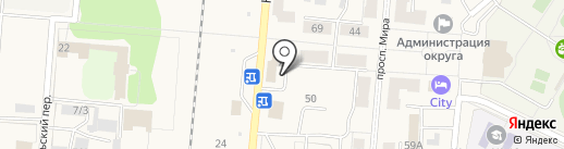 Орион на карте Калтана