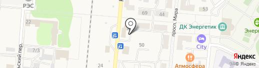 Бухен хаус на карте Калтана