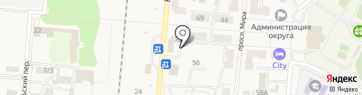 ROLLS на карте Калтана