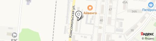 Луч, ТСЖ на карте Калтана