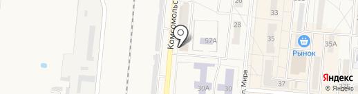 Салон-ателье домашнего текстиля на карте Калтана