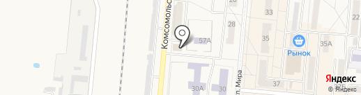 СТРОЙЛЮКС-НК на карте Калтана