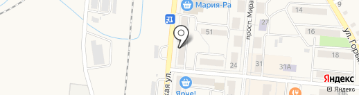 Централизованная библиотечная система на карте Калтана