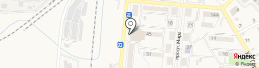 Церковная лавка на карте Калтана