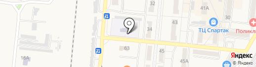 Детский сад №2, Радуга на карте Калтана