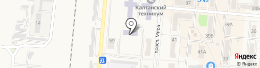 Детский сад №23 на карте Калтана