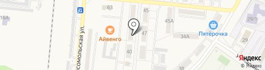 Домофон Центр на карте Калтана