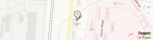 Восточный экспресс банк на карте Калтана