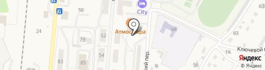 Памятник на карте Калтана