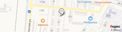 Коллегия адвокатов №107 г. Калтан на карте Калтана