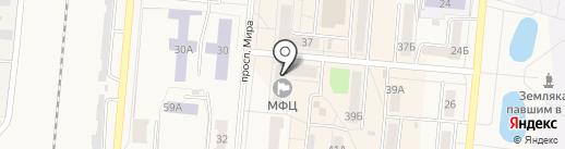 Управление пенсионного фонда РФ в г. Калтан на карте Калтана