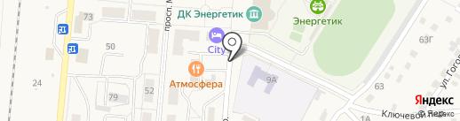 Автоматические теплицы-НК на карте Калтана