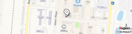 Московская распродажа на карте Калтана