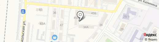 Детская поликлиника на карте Калтана