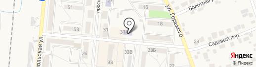 Детская школа искусств №42 на карте Калтана