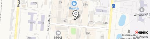 Магазин семен и рассады на карте Калтана