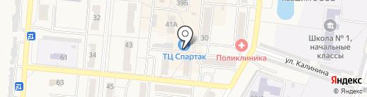 Пивбуль на карте Калтана