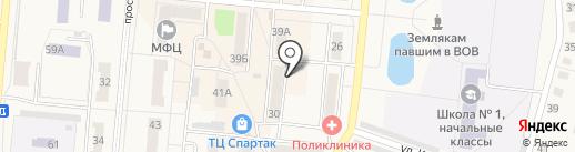 Бегемот на карте Калтана