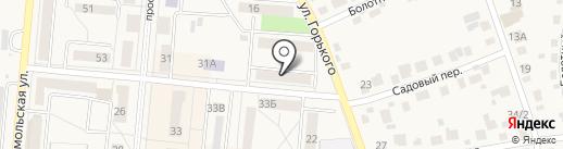Мадонна на карте Калтана